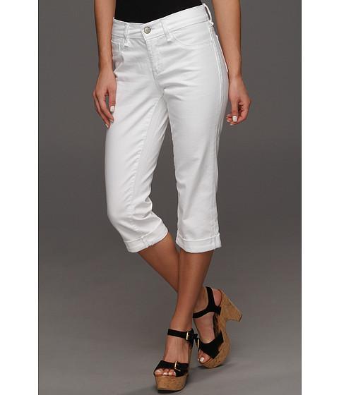 Blugi Mavi Jeans - Molly Mid-Rise Cuffed Capri in White Nolita - Whtie Nolita