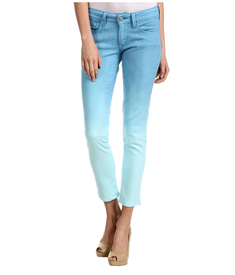 Blugi Mavi Jeans - Serena Ankle Low-Rise Super Skinny in Turquoise Fade - Turquoise Fade