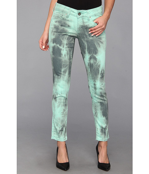 Blugi Mavi Jeans - Serena Ankle in Mint Batik - Mint Batik