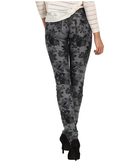 Blugi Mavi Jeans - Serena Low-Rise Super Skinny in Grey Floral - Grey Floral