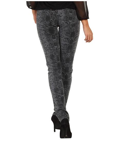 Blugi Mavi Jeans - Serena Low-Rise Super Skinny in Grey Snake Print - Grey Snake Print