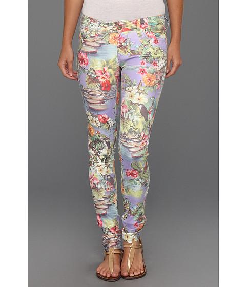 Blugi Mavi Jeans - Serena Low-Rise Super Skinny in Hawaii Print - Hawaii Print