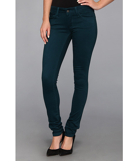 Blugi Mavi Jeans - Serena Lowrise Super Skinny Jean in Sueded Teal - Sueded Teal