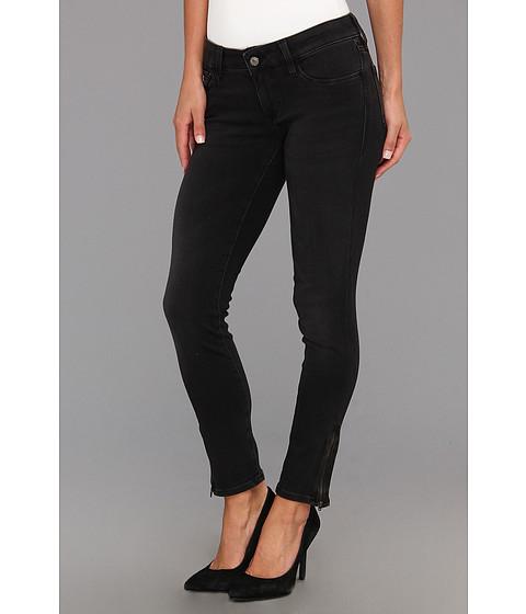 Blugi Mavi Jeans - Serenity Low-Rise Super Skinny Crop w/ Zips - Charcoal