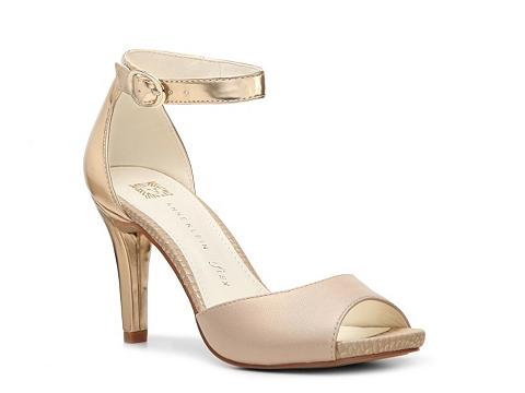 Sandale AK Anne Klein - Opalize Sandal - Beige/Gold