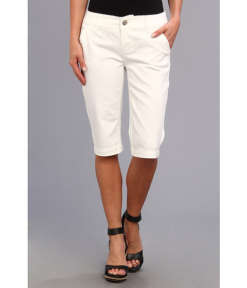 """Blugi Seven7 Jeans - 14\"""" Crop Pant - White 1"""