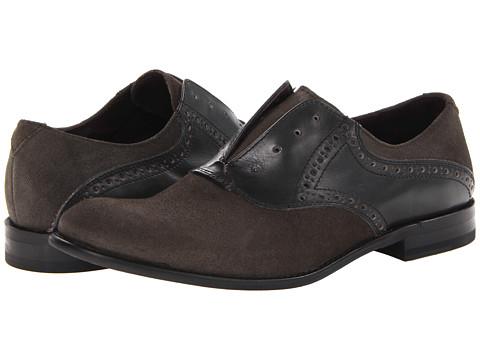 Pantofi John Varvatos - Side Buck Saddle - Oxide 2