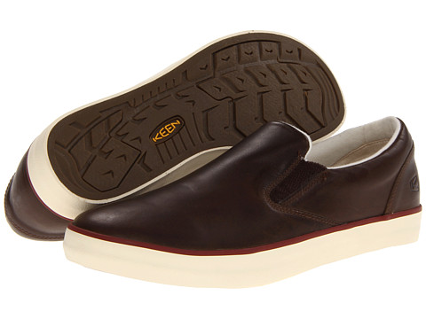 Pantofi Keen - Santa Cruz Slip-On - Cascade Brown