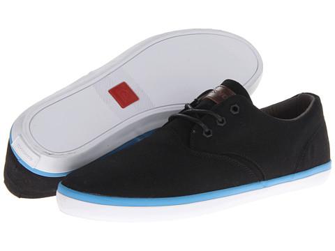 Adidasi Quiksilver - Emerson Vulc Canvas - Black/Blue