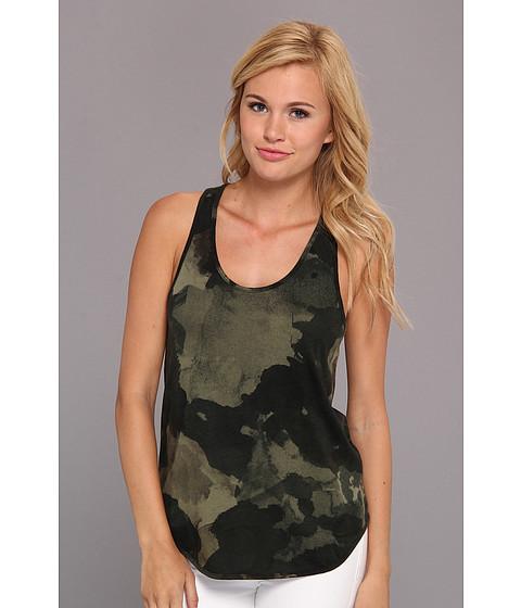 Bluze Alternative Apparel - Zinnia Printed Tank Top - Camo Dreamstate