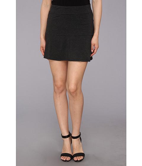Fuste kensie - Lightweight Viscose Skirt - Heather Charcoal