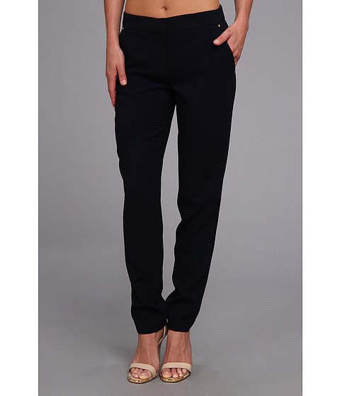 Pantaloni Jones New York - Runway Slim Pant w/ Rivet Pocket - Navy