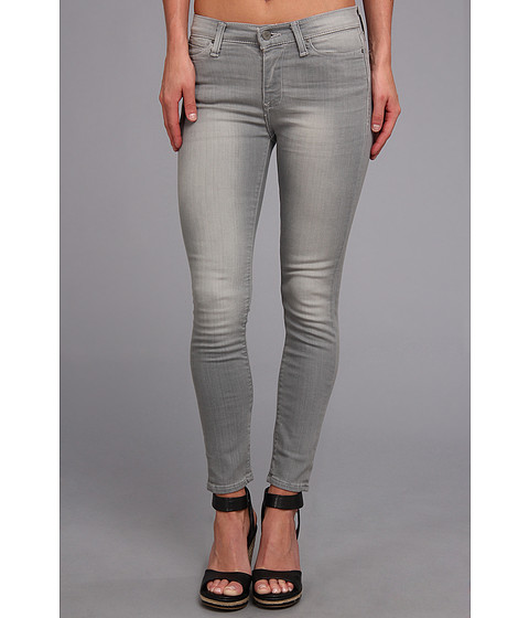 Blugi Calvin Klein Jeans - Mid Rise Ankle Skinny in Soft Grey - Soft Grey