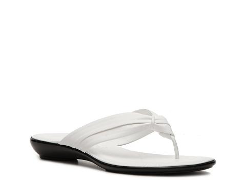 Sandale Italian Shoemakers - Zeus Wedge Sandal - White
