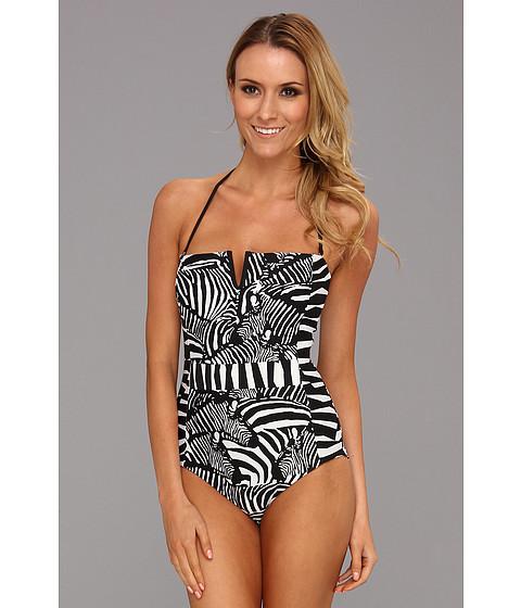 Costume de baie Trina Turk - Zebra One Piece - Black