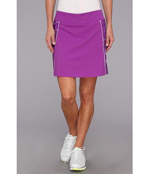 Pantaloni adidas - CLIMACOOLÃ'® Diamond Print Skort \14 - Vivid Purple/White