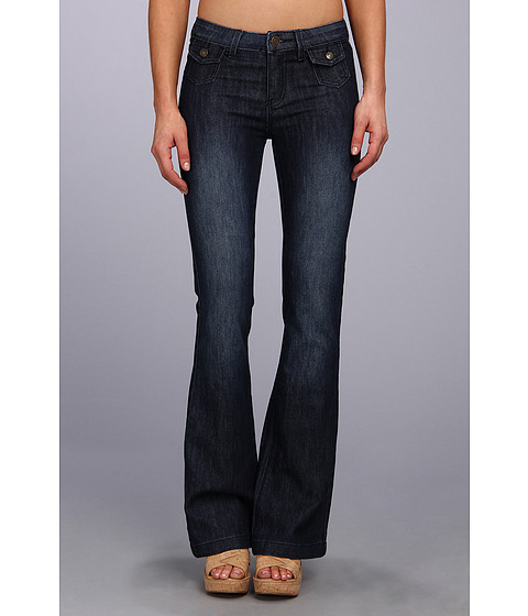 Blugi Buffalo David Bitton - Gallia Flare Jean in Night Vintage - Night Vintage