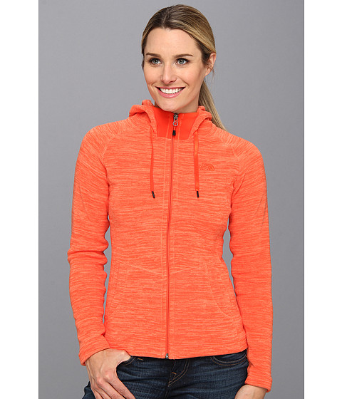 Bluze The North Face - Stria Mezzaluna Hoodie - Miami Orange