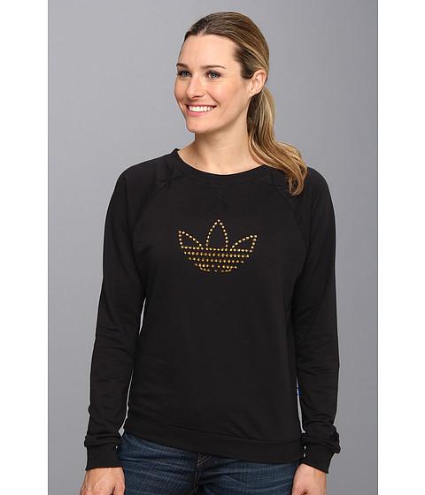 Bluze Adidas Originals - Studs Trefoil Logo Sweatshirt - Black