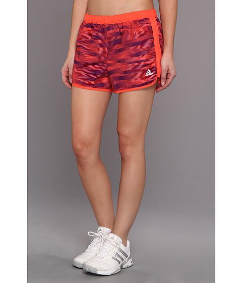 Pantaloni adidas - Marathon 10 Short - Energy Print - Bahia Coral/Tribe Purple