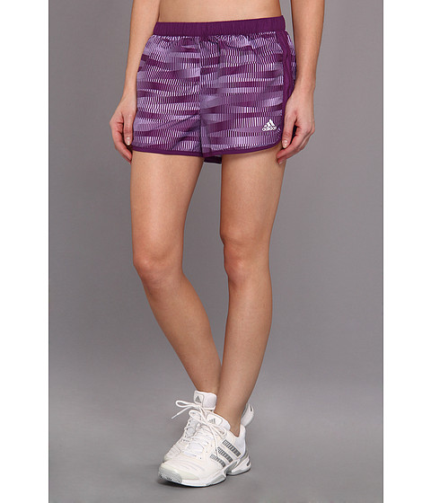 Pantaloni adidas - Marathon 10 Short - Energy Print - Tribe Purple/Glow Purple
