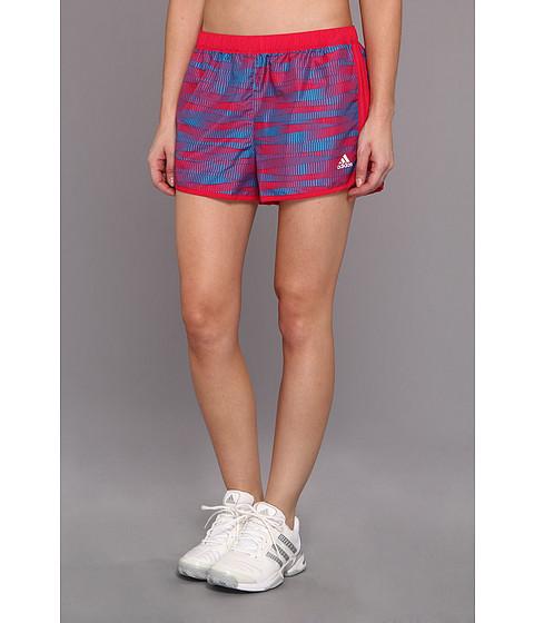 Pantaloni adidas - Marathon 10 Short - Energy Print - Vivid Berry/Solar Blue