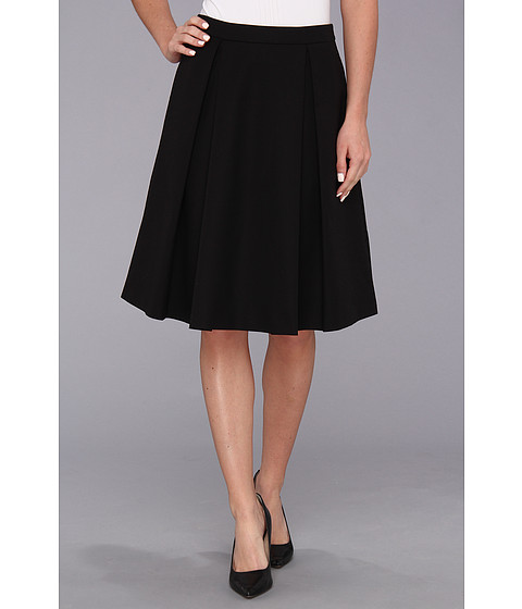 Fuste Vince Camuto - Pleated Mini Skirt \14 - Rich Black 14