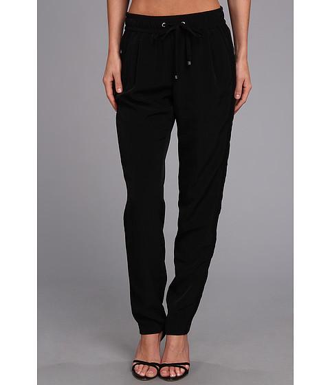 Pantaloni Calvin Klein - Pant w/ Mesh Stripe - Black