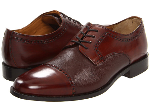 Pantofi Bostonian - Ricardo Cap Toe - Brown/Brown Tumbled