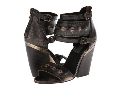 Pantofi MIA - MLE - Monterey - Black Crack
