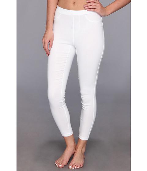 Pantaloni Steve Madden - Solid Rayon Legging - White