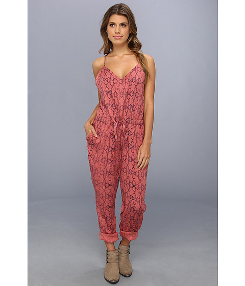 Pantaloni Free People - Sunset Romper - Tomato Combo