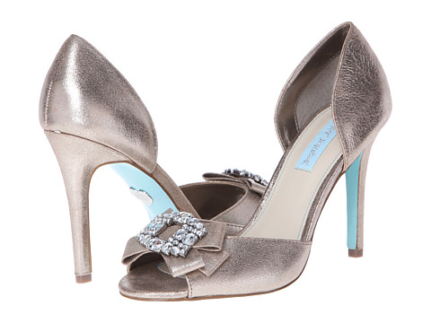 Pantofi Betsey Johnson - Glam - Silver Metallic