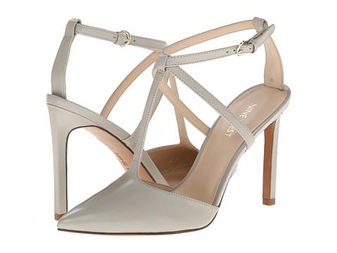 Pantofi Nine West - Tixilated - Light Grey Leather