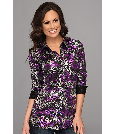 Camasi Roper - 9075 Poly Jersey Shirt - Black