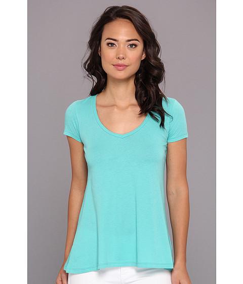 Bluze Alternative Apparel - Basic V-Neck Tee - Sea Breeze