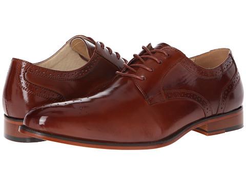 Pantofi Stacy Adams - Steade - Cognac Buffalo Leather