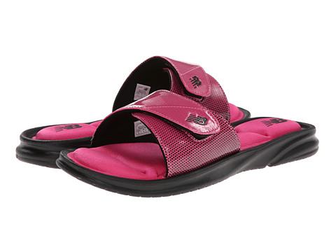 Sandale New Balance - Cruz II Slide - Black/Pink