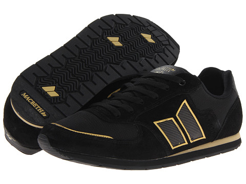 Adidasi Macbeth - Fischer (Tom DeLonge Studio Project) - Black/Metallic Gold