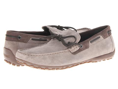Pantofi Geox - Uomo Snake Mocassino - Taupe/Ebony