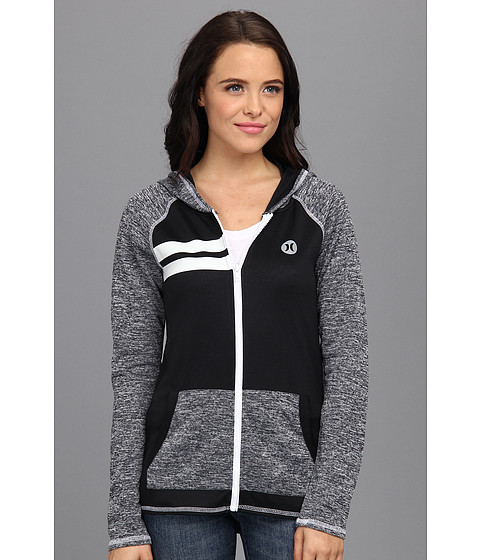"Bluze Hurley - Dri-Fitâ""¢ Hoodie - Heather Black"
