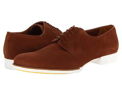 Pantofi A. Testoni - Sponge Calf Oxford - Cuoio