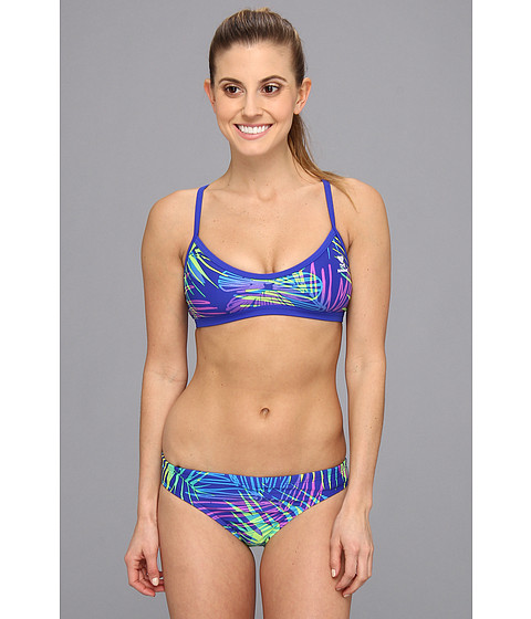 Costume de baie TYR - Safari Workout Bikini - Blue/Green