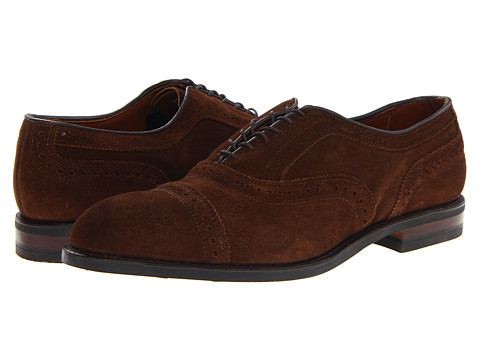 Pantofi Allen-Edmonds - Strand - Brogue Suede