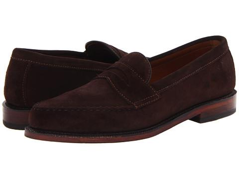 Pantofi Allen-Edmonds - Patriot - Bitter Chocolate Suede
