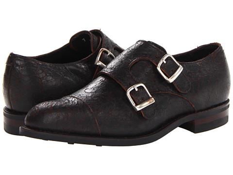 Pantofi Allen-Edmonds - Pine River - Dark Brown Crackle Leather