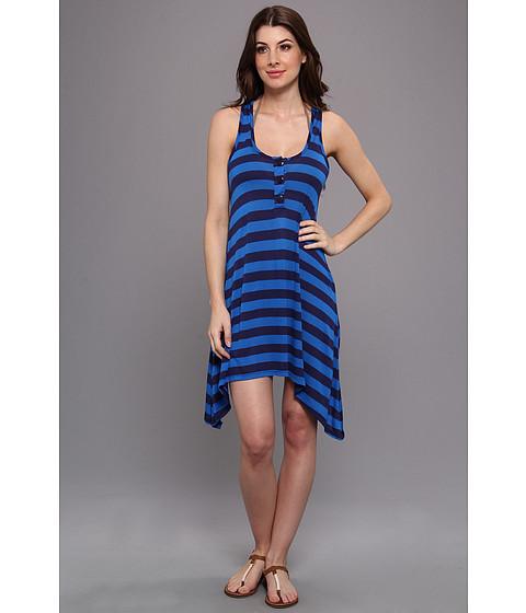 Costume de baie Splendid - Marcel Stripe Dress Cover-Up - Navy/Blue