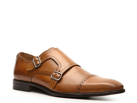 Pantofi Mercanti Fiorentini - Double Monk Slip-On - Tan