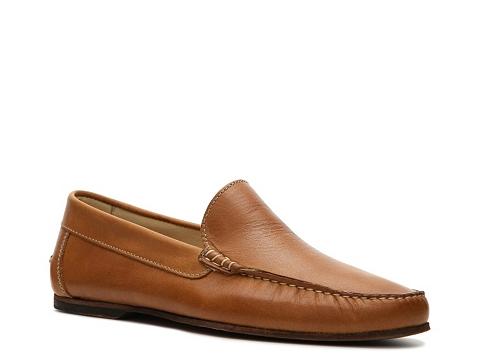 Pantofi Sandro Moscoloni - Turin Venetian Slip-on - Tan