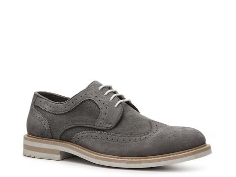 Pantofi Aston Grey - Sunset Wingtip Oxford - Grey